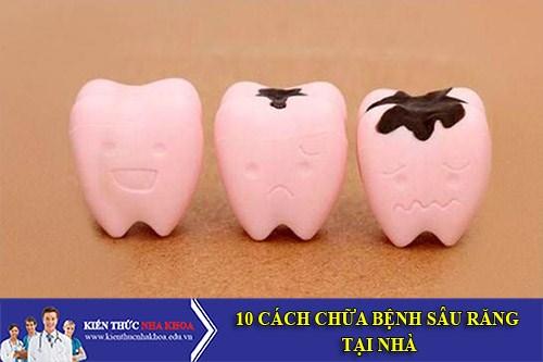 10 Cách Chữa Bệnh Sâu Răng Tại Nhà Chỉ Trong Vài Phút