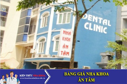 Bảng Giá Nha Khoa Ân Tâm - 63 Trần Quốc Hoàn, Phường 4, Tân Bình