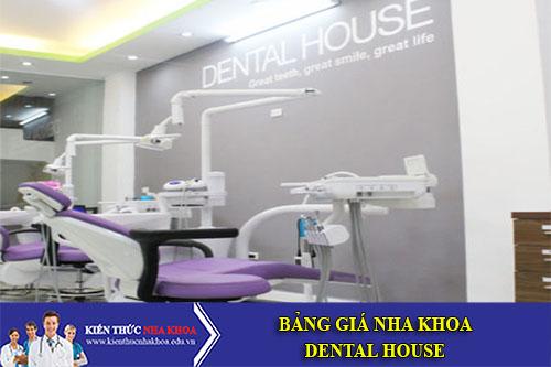 Bảng Giá Nha Khoa Dental House - 157 Yên Lãng, Đống Đa, Hà Nội