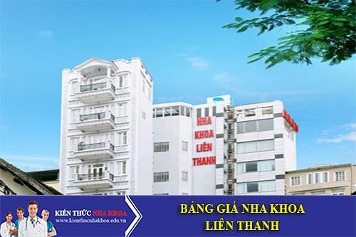 Bảng Giá Nha Khoa Liên Thanh - 30A Hạ Hồi, Hoàn Kiếm, Hà Nội