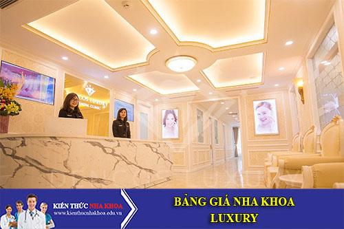 Bảng Giá Nha Khoa Dencos Luxury - 35-137 Bùi Thị Xuân, Q. Hai Bà Trưng