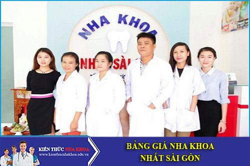 Bảng Giá Nha Khoa Nhất Sài Gòn - 90 Tây Hòa , P. Phước Long A, Quận 9