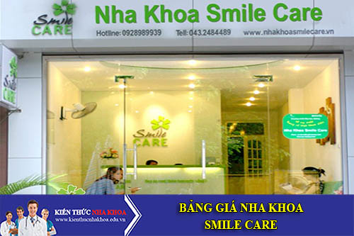 Bảng Giá Nha Khoa Smile Care - 580 Sư Vạn Hạnh, Phường 10, Quận 10