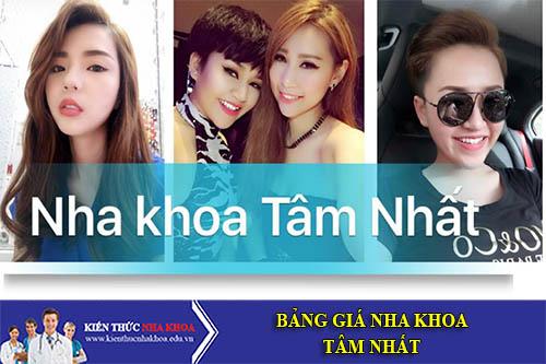 Bảng Giá Nha Khoa Tâm Nhất - 518 Phan Văn Trị, P7, Gò Vấp