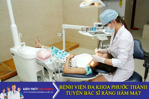 Bệnh Viện Đa Khoa Phước Thành Tuyển Bác Sĩ Trưởng Khoa Răng Hàm Mặt