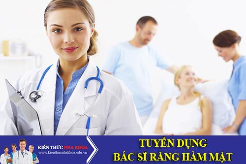 Bệnh Viện Y Học Cổ Truyền Tuyển Dụng Bác Sĩ Răng Hàm Mặt