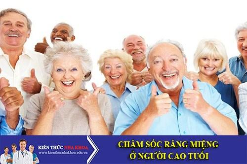 Phương Pháp Chăm Sóc Răng Miệng Ở Người Cao Tuổi