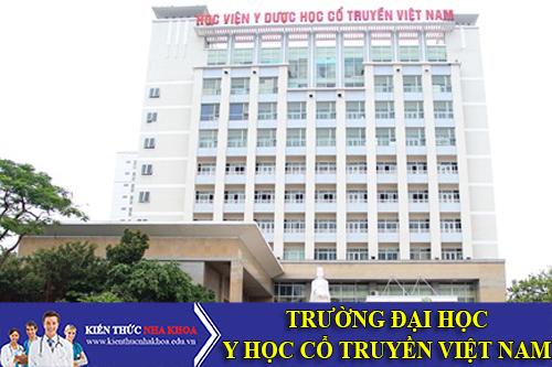 Học Viện Y Dược Học Cổ Truyền Việt Nam Tuyển Sinh 2016