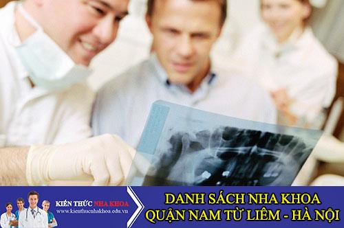 Danh Sách Nha Khoa Chất Lượng Quận Nam Từ Liêm - Hà Nội