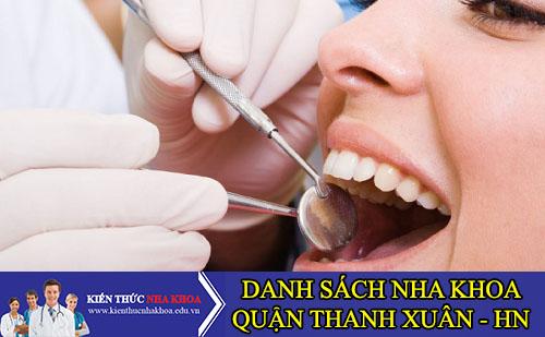 Danh Sách Nha Khoa Chất Lượng Quận Thanh Xuân - Hà Nội