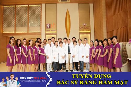 Nha Khoa Dr Hùng Tuyển Dụng Bác Sỹ Răng Hàm Mặt