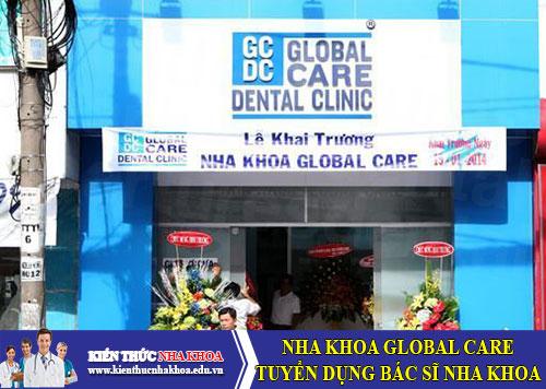 Nha Khoa Global Care Tuyển Dụng Bác Sĩ Nha Khoa