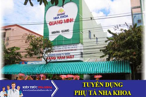Nha Khoa Quang Minh Tuyển Dụng 3 Phụ Tá Nha Khoa Làm Việc Tại Cần Thơ