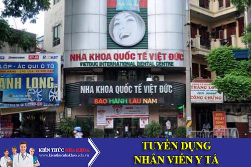 Nha Khoa Quốc Tế Việt Đức Tuyển Dụng Phụ Tá Nha Khoa