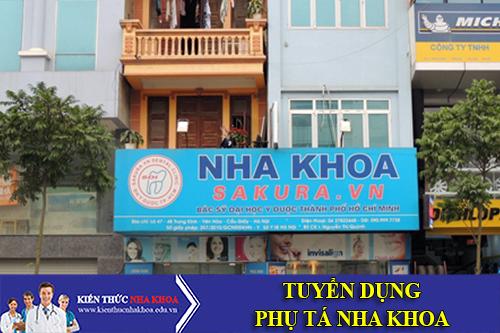 Nha Khoa Sakura Việt Nam Tuyển Dụng 5 Phụ Tá Làm Việc Tại Hà Nội