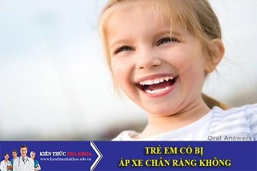 Trẻ Em Có Bị Áp Xe Chân Răng Không?