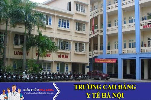 Trường Cao Đẳng Y Tế Hà Nội Tuyển Sinh 2016