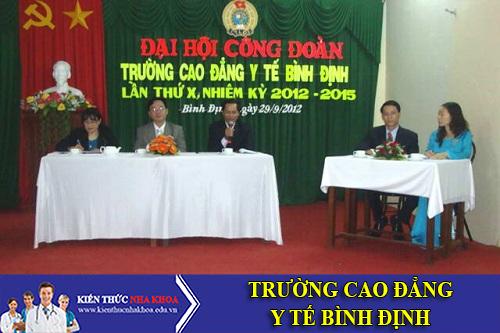Trường Cao Đẳng Y Tế Bình Định Tuyển Sinh 2016