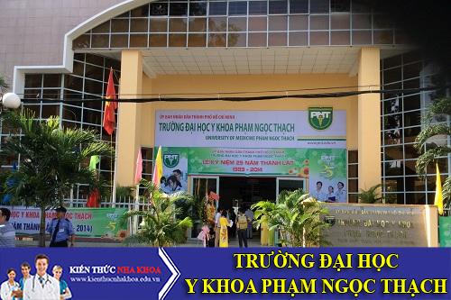 Trường Đại Học Y Khoa Phạm Ngọc Thạch Tuyển Sinh Năm 2016