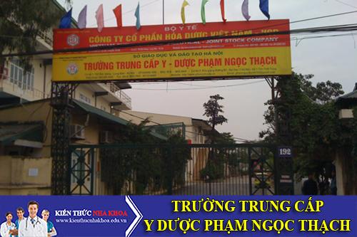 Trường Trung cấp Y Dược Phạm Ngọc Thạch