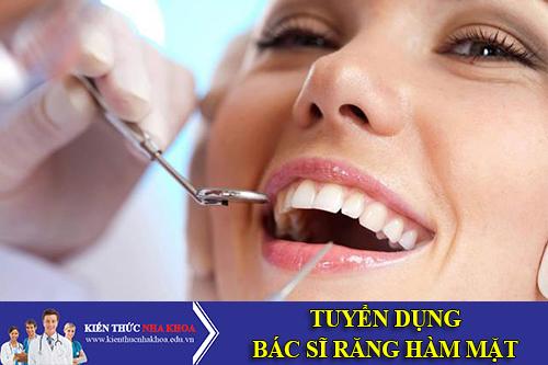 Công Ty TNHH Trí Phước Tuyển Dụng Bác Sĩ Răng Hàm Mặt