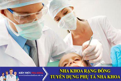 Công Ty TNHH PP Nha Khoa Rạng Đông Tuyển Dụng Phụ Tá Nha khoa